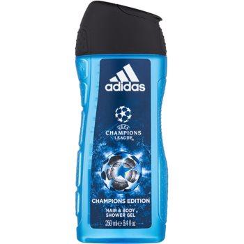 Adidas UEFA Champions League Champions Edition gel de dus pentru barbati 250 ml