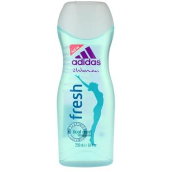 Adidas Fresh gel de dus pentru femei 250 ml