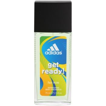 Fotografie Adidas Get Ready! deodorant s rozprašovačem pro muže 75 ml
