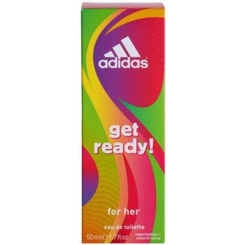 Adidas Get Ready! Eau de Toilette für Damen 3