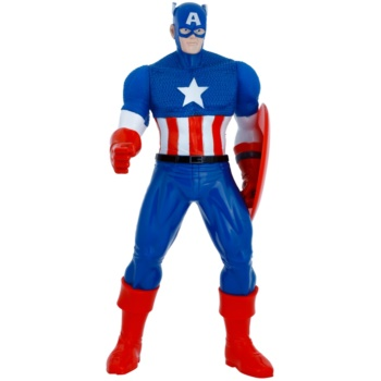 Image of Admiranda Avengers Captain America 3D Bath Foam And Shower Gel 2 In 1 For Kids 200 ml