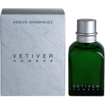 Adolfo Dominguez Vetiver Hombre Eau de Toilette pentru barbati 120 ml