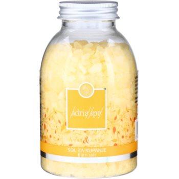 Adria-Spa Lemon & Immortelle відновлююча сіль для ванни для сухої шкіри