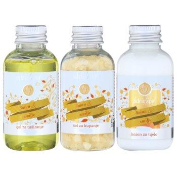 Adria-Spa Lemon & Immortelle Kosmetik-Set  II. 1