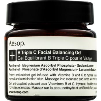 Aésop B Triple C Facila Balancing Gel gel antioxidant pentru ten cu vitamine