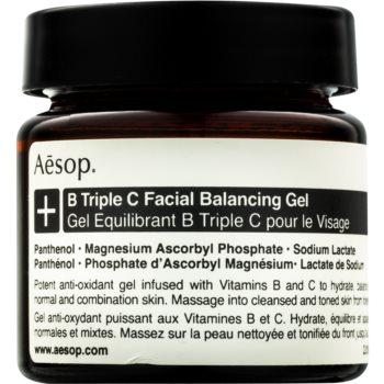 Aēsop B Triple C Facila Balancing Gel gel antioxidant pentru ten cu vitamine