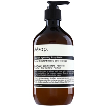 Aésop Body Resolute Hydrating balsam de corp hidratant