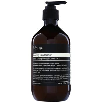 Aésop Hair Nurturing balsam hranitor pentru par uscat, deteriorat si tratat chimic
