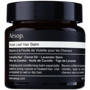 A?sop Hair Violet Leaf Balsam modelator pentru par indisciplinat imagine produs