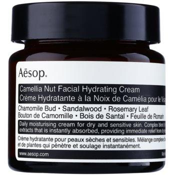 Aēsop Skin Camellia Nut crema hidratanta si nutritiva pentru piele uscata spre sensibila
