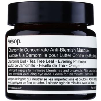 Aēsop Skin Chamomile masca de curatare pentru pielea problematica