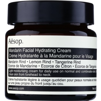 Aésop Skin Mandarin Crema hidratanta pentru zi pentru piele normala si mixta  60 ml