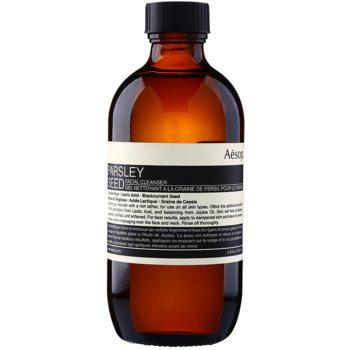 Aésop Skin Parsley Seed gel de curatare bland pentru toate tipurile de ten