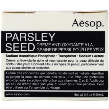 Aésop Skin Parsley Seed antioxidační oční krém 2