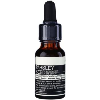 aésop skin parsley seed ser antioxidant zona ochilor