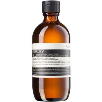 Aēsop Skin Parsley Seed tonic antioxidant pentru toate tipurile de ten