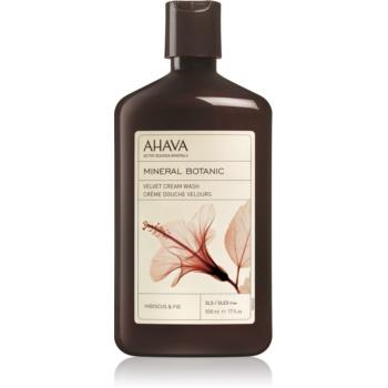 Ahava Mineral Botanic Hibiscus & Fig sametový sprchový krém ibišek a fík 500 ml