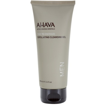 Fotografie Ahava Time To Energize Men peelingový čisticí gel 100 ml