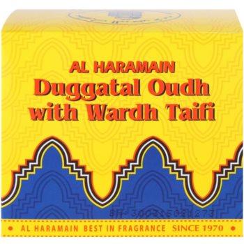 Al Haramain Duggatal Oudh with Wardh Taifi Weihrauch 4