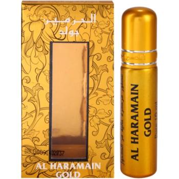 Fotografie Al Haramain Gold parfémovaný olej pro ženy 10 ml