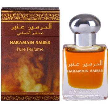 Fotografie Al Haramain Haramain Amber parfémovaný olej unisex 15 ml