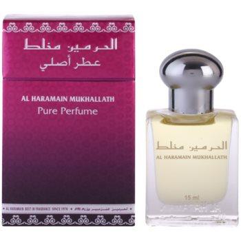 Al Haramain Mukhallath ulei parfumat unisex poza noua