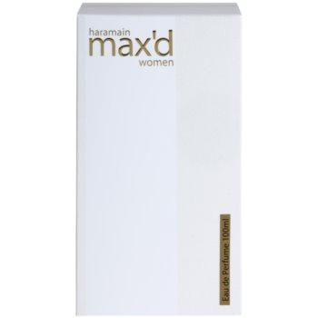 Al Haramain Max'd Eau De Parfum pentru femei 4
