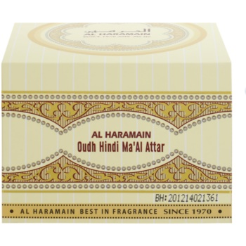 Al Haramain Oudh Hindi Ma'Al Attar ладан 4