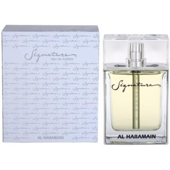 Al Haramain Signature eau de toilette pentru barbati 100 ml