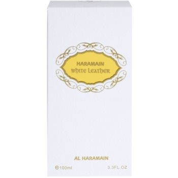 Al Haramain White Leather Eau de Parfum unisex 4