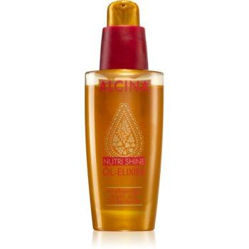 Alcina Nutri Shine ulei elixir pentru pãr strãlucitor ?i elegant imagine produs