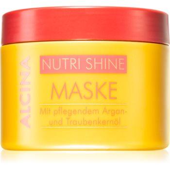 Alcina Nutri Shine nährende Haarmaske mit Arganöl 200 ml