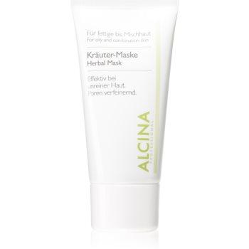Alcina For Oily Skin mascã pe bazã de plante pentru piele lucioasa cu pori dilatati imagine produs