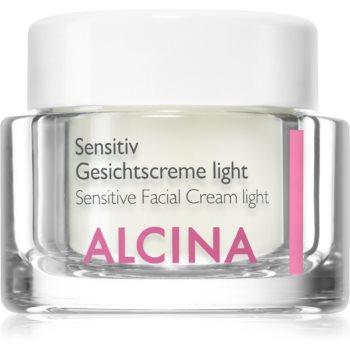 Alcina For Sensitive Skin cremă ușoară pentru față pentru a calma si intari pielea sensibila poza noua