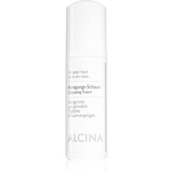 Alcina For All Skin Types spuma de curatat cu Panthenol imagine produs