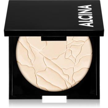 Alcina Decorative Matt Sensation 2 in 1 pudra si makeup imagine produs