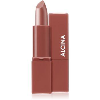 Alcina Pure Lip Color Cremiger Lippenstift Farbton 02 Warm Sienna