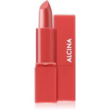 Alcina Pure Lip Color Cremiger Lippenstift Farbton 04 Poppy Red