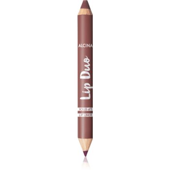Alcina Lip Duo creion dermatograf cu douã capete imagine produs