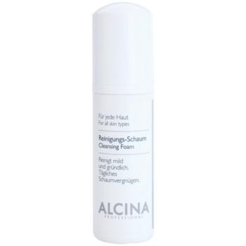 Alcina For All Skin Types čisticí pěna s panthenolem 150 ml