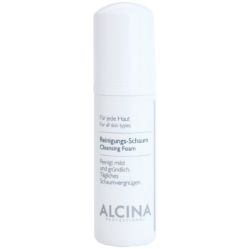 Alcina For All Skin Types spuma de curatat cu Panthenol