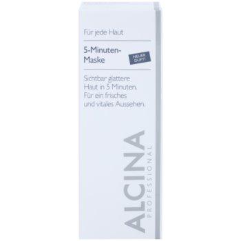 Alcina For All Skin Types máscara de 5 minutos para uma pele com aparência fresca 2