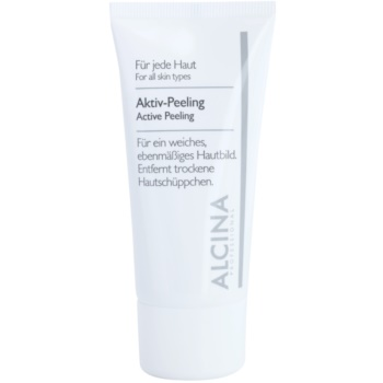 Fotografie Alcina For All Skin Types aktivní peeling pro jemnou a vyhlazenou pleť 50 ml