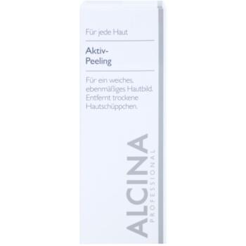 Alcina For All Skin Types aktivní peeling pro jemnou a vyhlazenou pleť 2