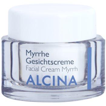Alcina For Dry Skin Myrrh pleťový krém s protivráskovým účinkem 50 ml