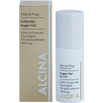 Alcina Effective Care gel de contorno de olhos com efeito resfrescante 2