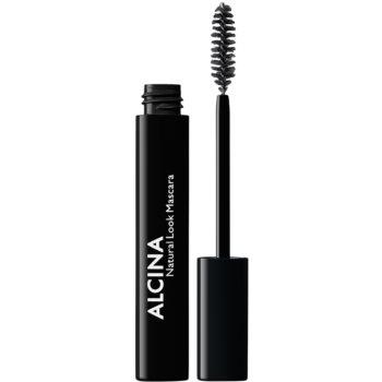 Alcina Decorative Natural Look mascara pentru un look natural culoare 010 Black 8 ml
