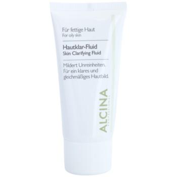 Alcina For Oily Skin bylinný fluid pro rozjasnění pleti 50 ml