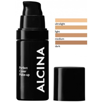 Alcina Decorative Perfect Cover make up pentru uniformizarea nuantei tenului culoare Light 30 ml