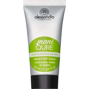 Alessandro Maniqure crema pentru ingrijire pentru maini si unghii